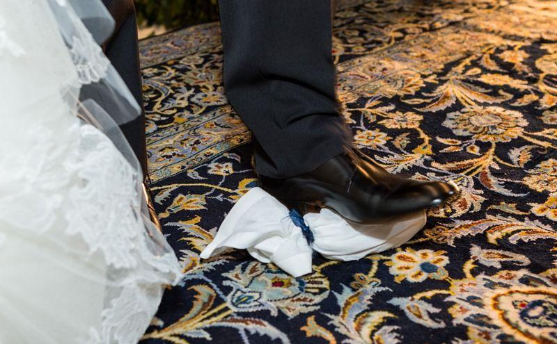 Casamento judaico: quebra do copo - Foto Irit Fotografias
