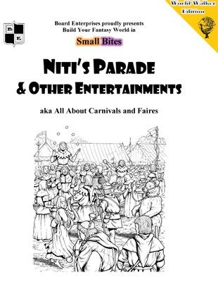 Free Role Playing Game Supplement Review: Niti's Parade
