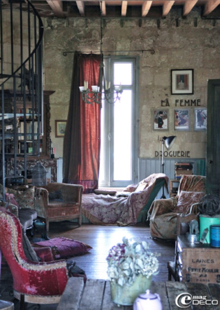 enchanting boho chic apartment | Now this is truly a whimsical home! The owner and artist ...