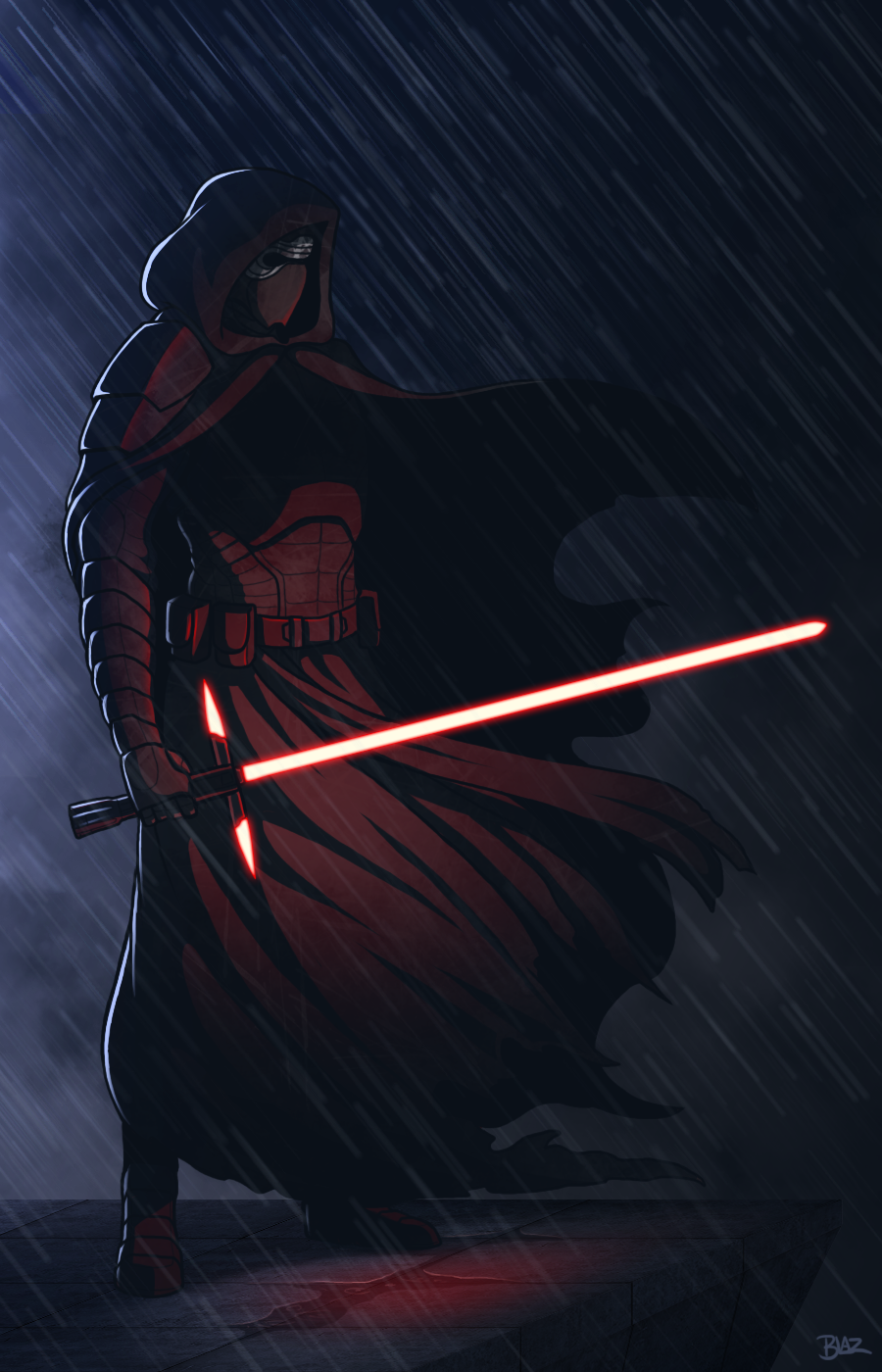 Kylo Ren By Blazbaros Star Wars Images Star Wars Poster Ren Star Wars