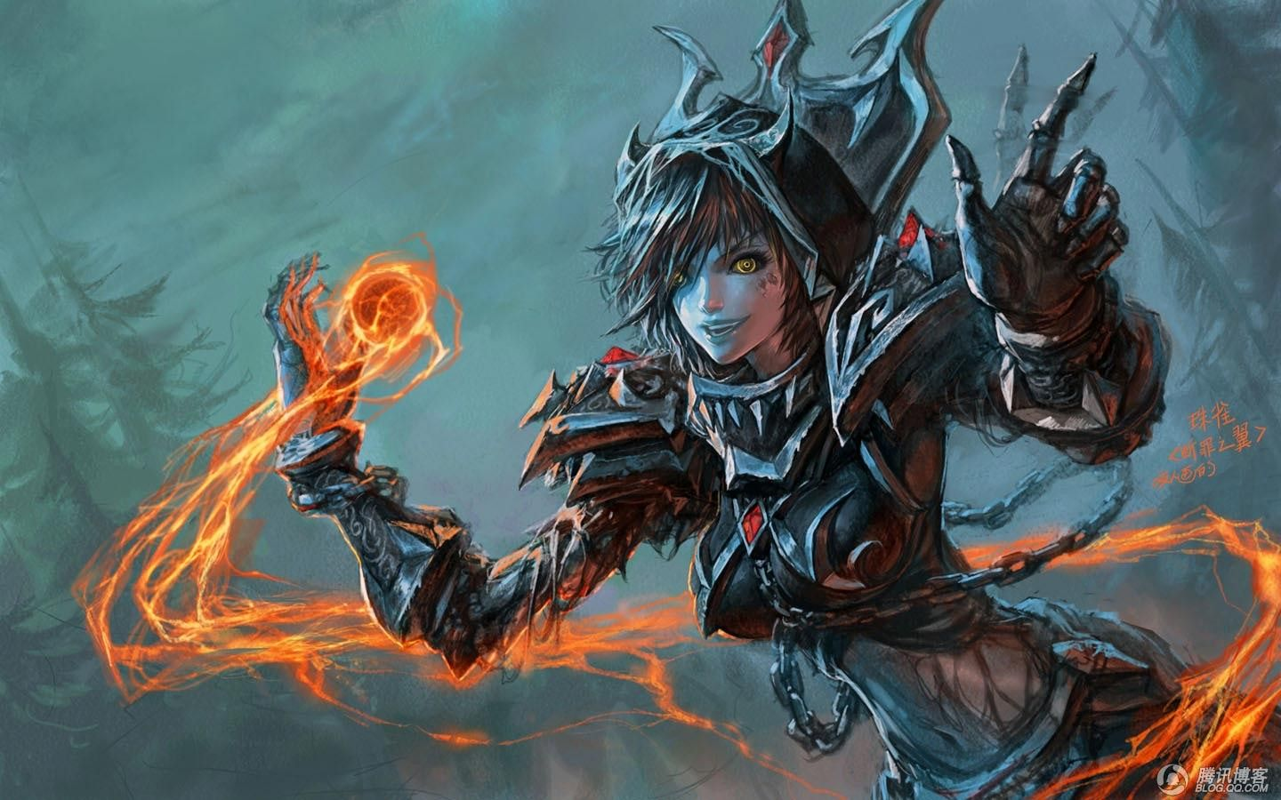 World of Warcraft Yaorenwo armor artwork fantasy art