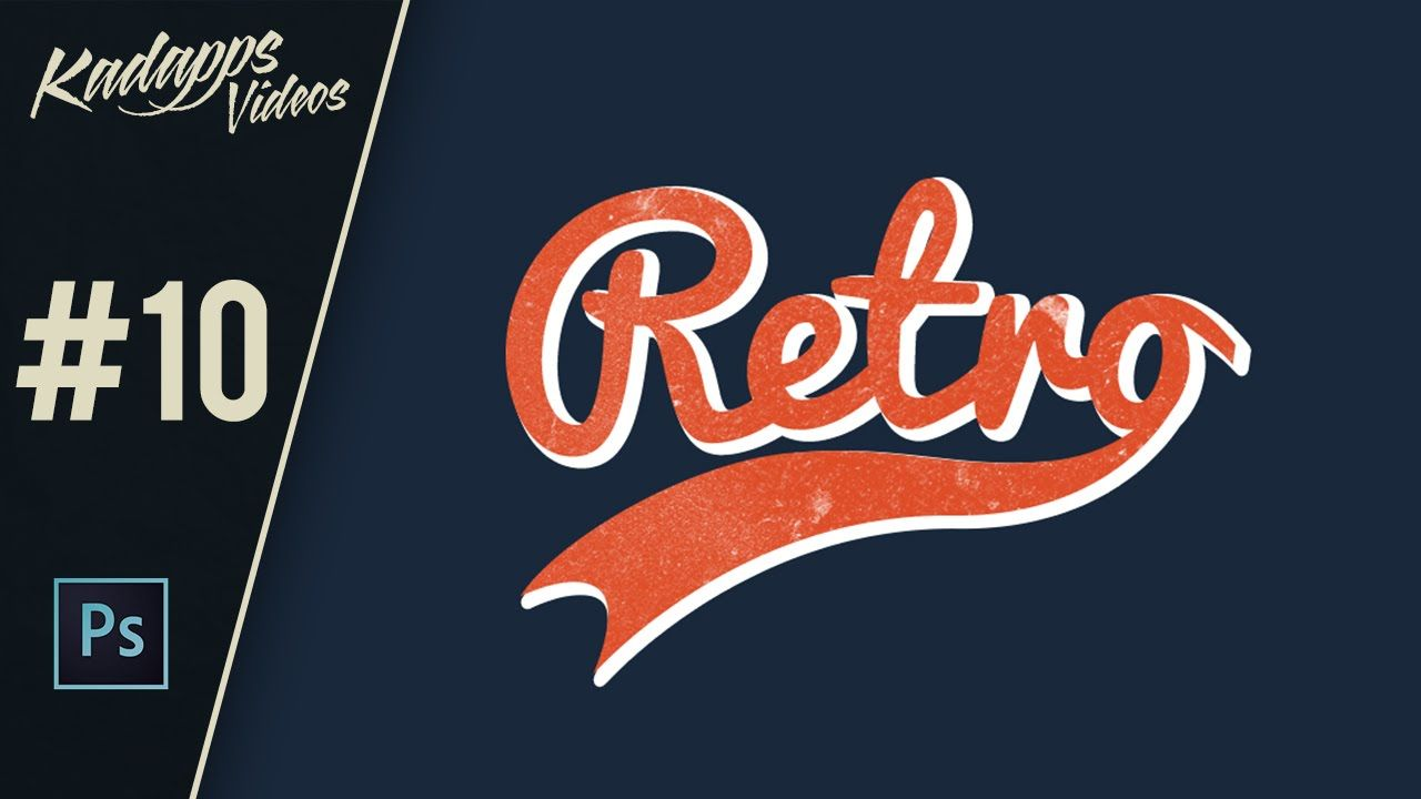 How to design typographic retro vintage logo in photoshop design how to design typographic retro vintage logo in photoshop baditri Gallery