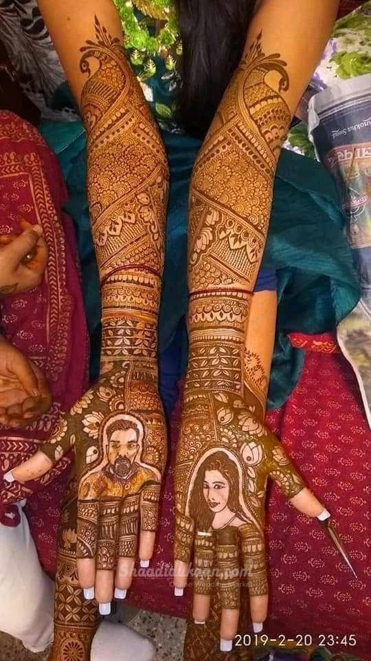 Portrait Mehndi Designs Mehndi Artist Bridal Mehendi Designs Mehndi