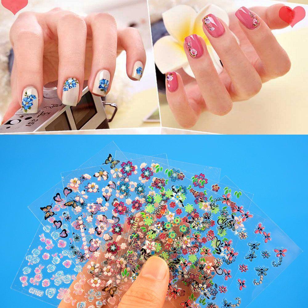 Neue Design 3D Spitze Spitze-nagel-kunst-aufkleber-abziehbild Acryl ...