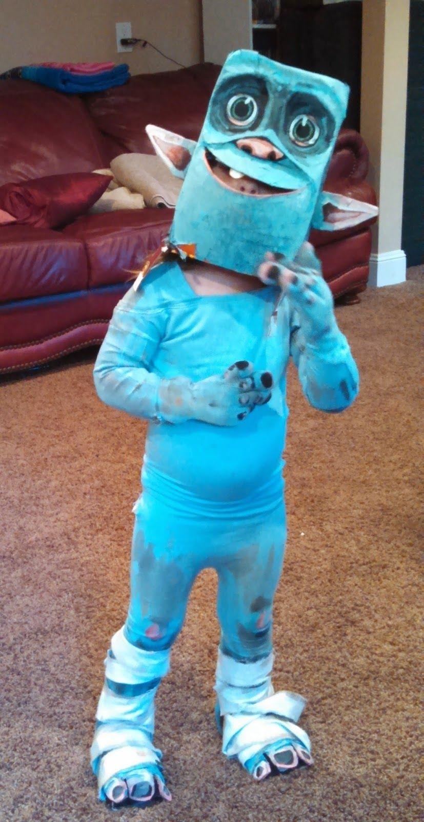Box Troll Costume Ideas #Funny Halloween Costume Ideas #Halloween ...