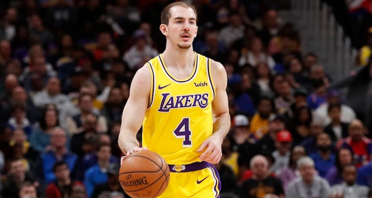 Alex Caruso Professional Basketball Player Bio Wiki Career Net Worth College Height Contract Bio Gossipy In 2020 Basketball Players Net Worth Aging Parents