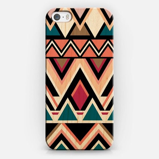 Mountain Nativo Tribal iPhone 5S Wood Case by Organic Saturation   Casetify #iphone #iphonecase #iphone5s #wood #woodcase #iphonecover #casetify