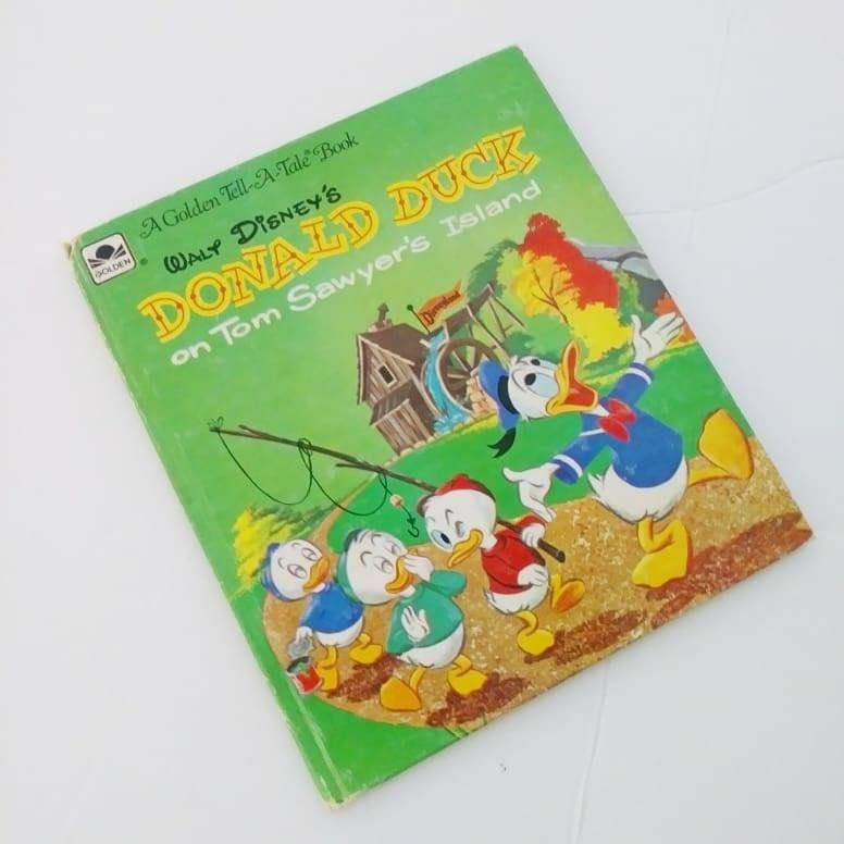 a69ac136758e7 Disney's Donald Duck on Tom Sawyer's Island A Little Golden Tell A ...