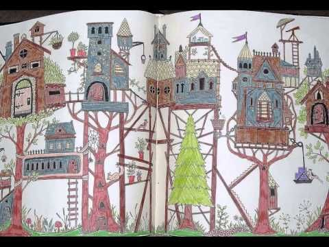 I Colour In Enchanted Forest An Inky Quest Colouring Book By Johanna Ba