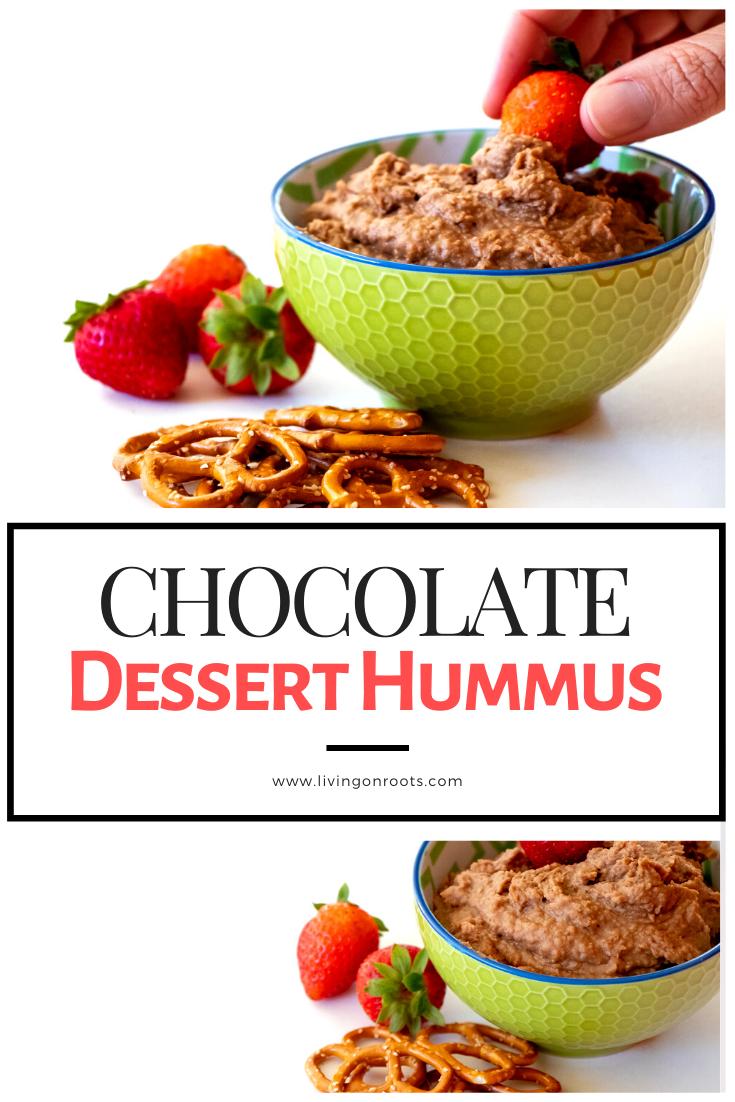 Chocolate Dessert Hummus #desserthummus