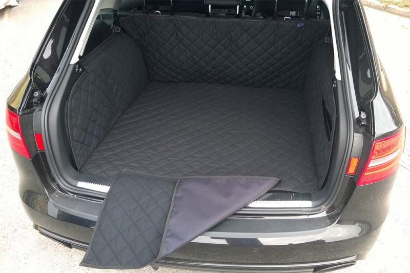 Audi A4 Avant Estate 2008 Quilted Waterproof Boot Liner