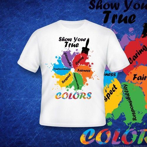 T-shirt design for Elementary School kids Design by Dragan ...