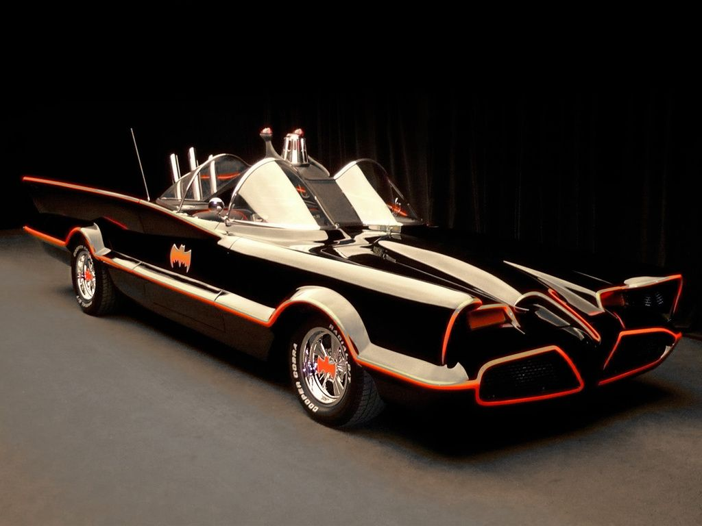 The Original 1966 Batmobile Was Bought For $1 From Ford ... |1966 Lincoln Futura