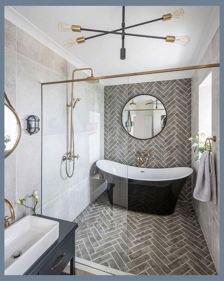 48 Simple Master Bathroom Renovation Ideas Master Bathroom Remodel Ideas For Small Master Bathroom Design Master Bathroom Renovation Bathroom Tile Designs