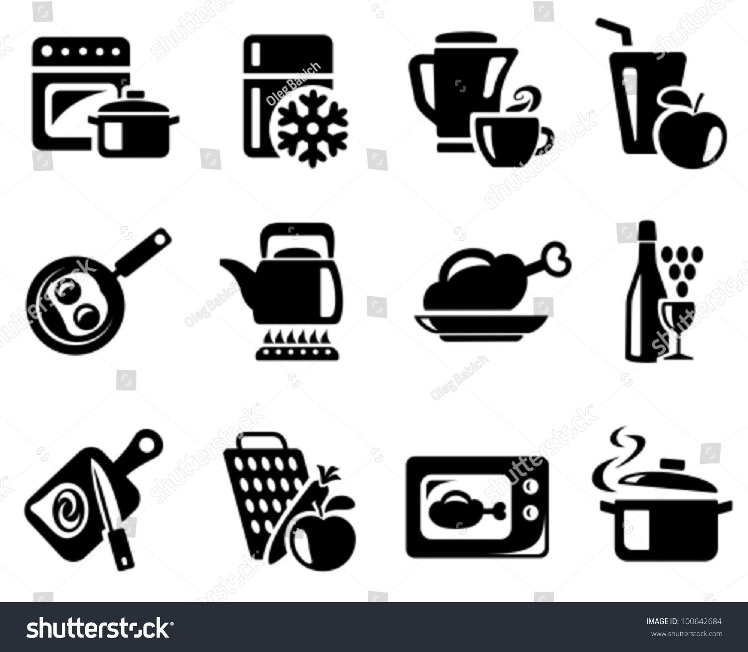 Kitchen And Cooking Icon Set Sponsored Sponsored Cooking