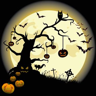 Halloween Decorating Ideas | Easy Halloween Tree Decorating Ideas ...
