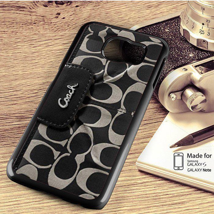 the best attitude 0a6ab b1537 Coach Wallet Samsung Galaxy S4/S5/S6/S6/S6 Edge/S6 Edge Plus/S7/S7 ...