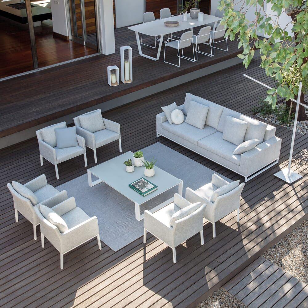 High End Modern Luxury Garden Furniture Set - Juliettes Interiors