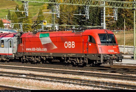 RailPictures.Net Photo: 1216 016 OBB Austria Rail Taurus ES 64 U4 at Brenner/Brennero, Austria by Thomas Naas: