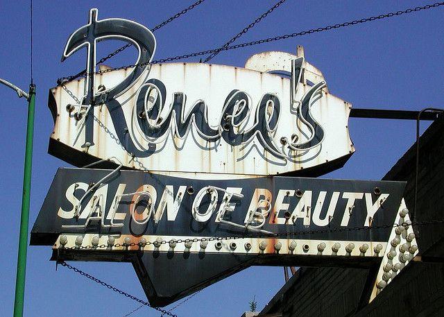 Renees Salon Of Beauty Sign By Pixeljones Via Flickr Chicago