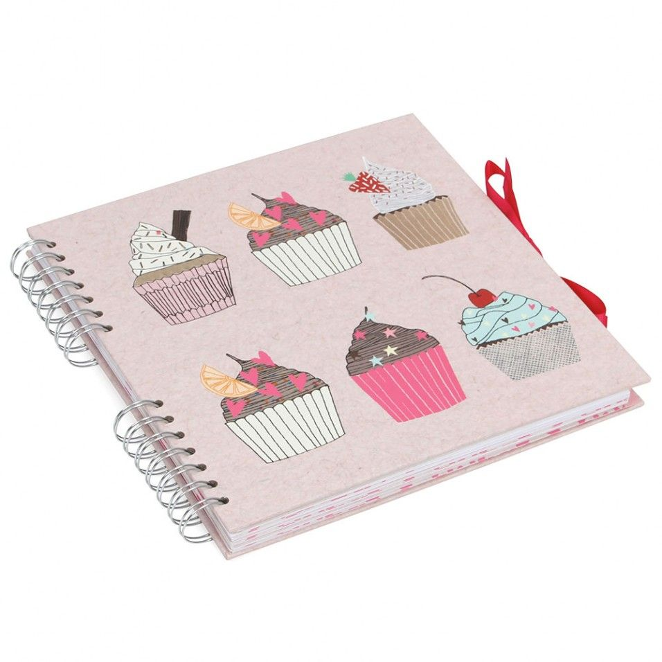Scrapbook paperchase - Cupcake Scrapbook With Dividers Paperchase