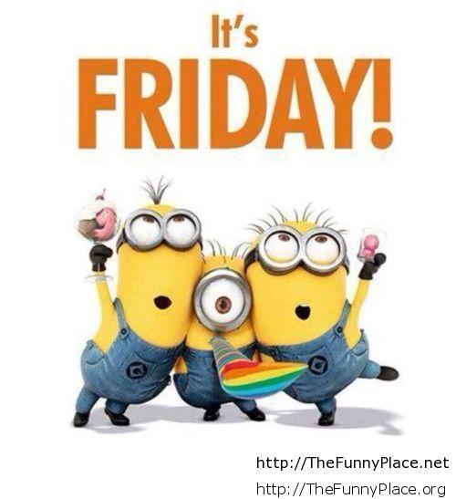 Its Friday Minion Wallpaper