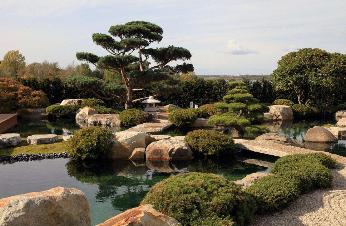 Vintage Faszination Wassergarten Asiatischer GartenLeipzigJapanische