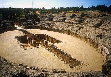 Conjunto Arqueológico de Itálica - Sevilla, Spain