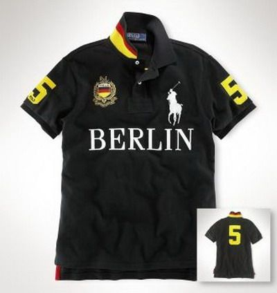 Ralph Lauren Berlin NO.5 Polo Shirt Black http   www.hxzyedu 329720b37fc