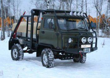 Тюнинг УАЗ 3303 головастик. Фото салона, бортовой и кабины ...