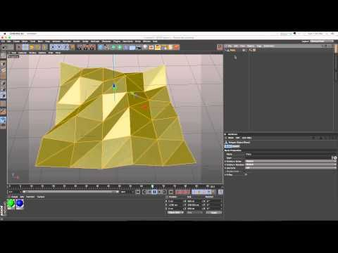 C4D Tutorial: Baking Animated Deformers or Effectors with Point Cache Tag