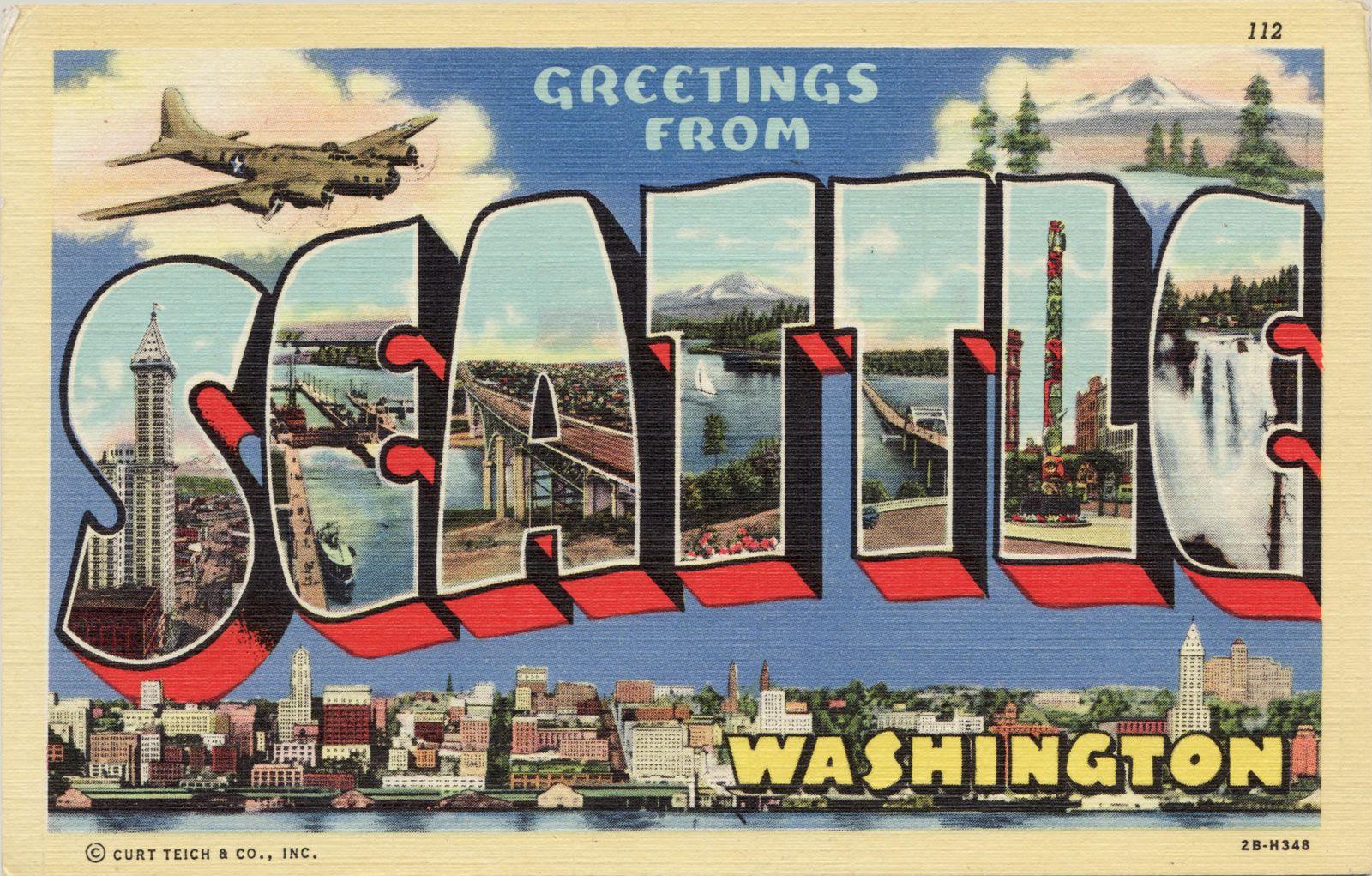 Seattle Washington Pt 3 Vintage Seattle