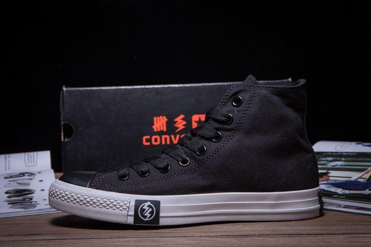 4b3b36e415e3e9  converse Converse Flash Black Limited Edition High Tops Superhero Mens  Shoes