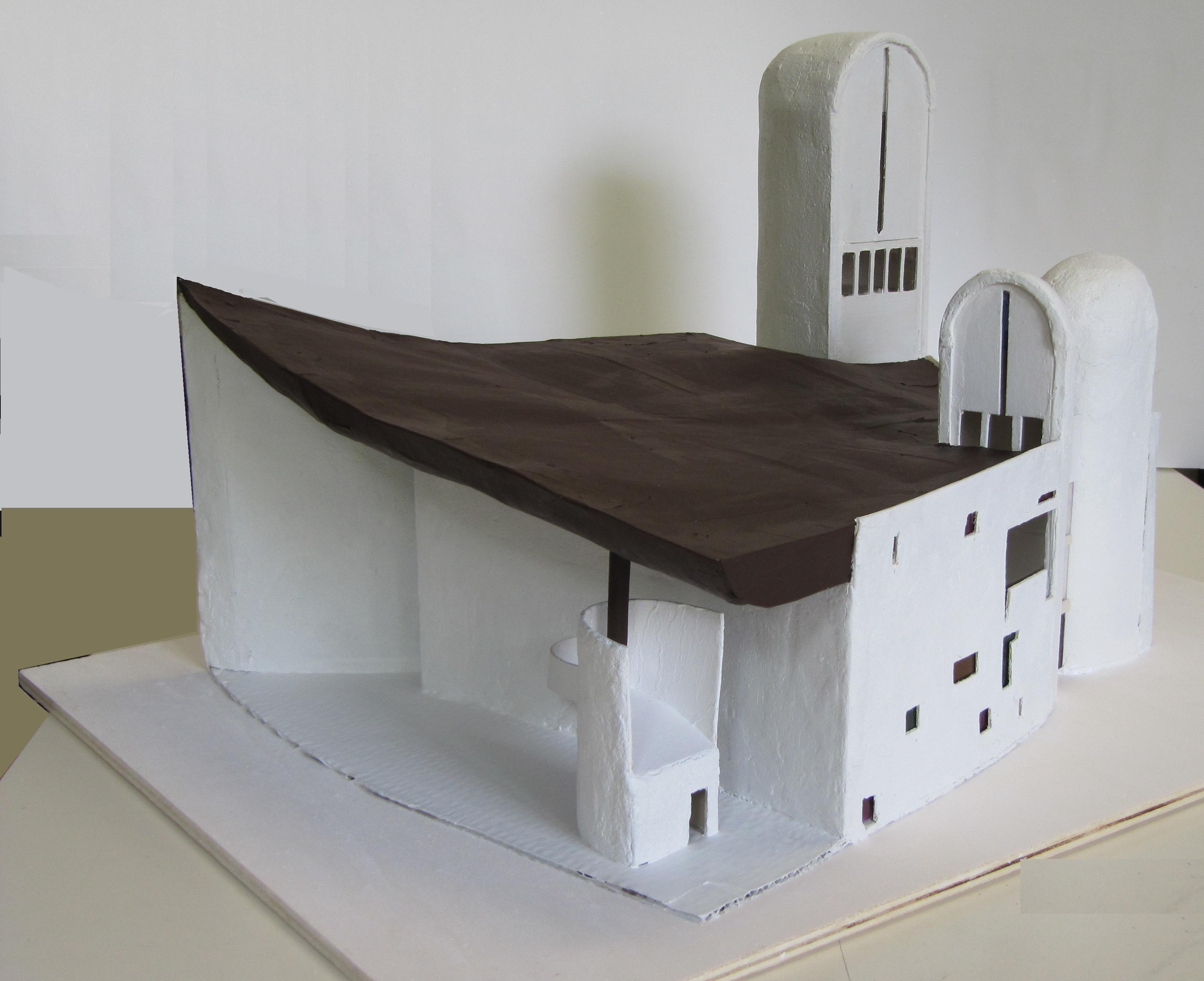 Ronchamp Le Corbusier 4c Anno Scolastico 2010 Esercitazioni  # Muebles Pagolin
