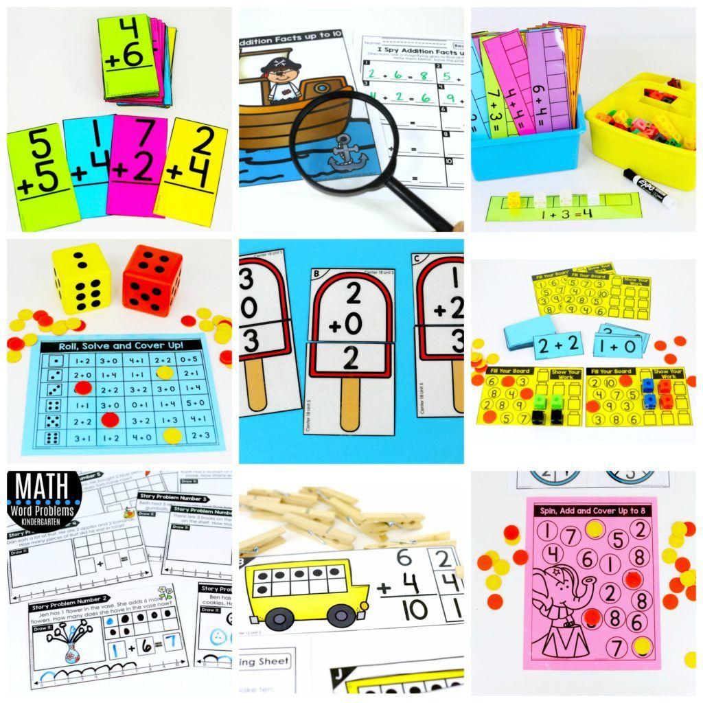 Kindergarten Math: Addition | Math, Build math and Math addition
