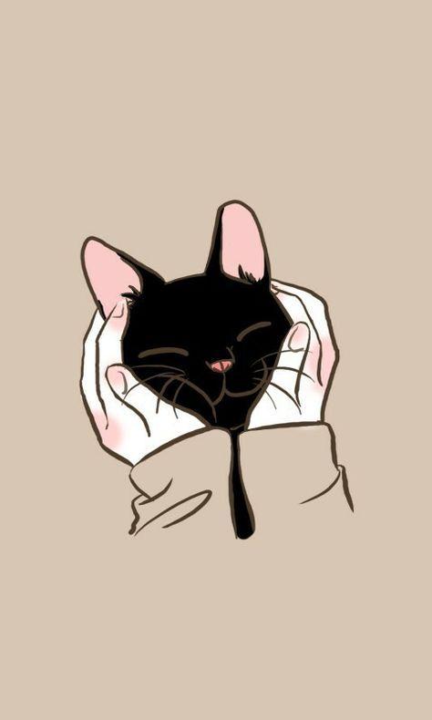 Imagem De Cat And Wallpaper Kitten Wallpaper Cat Art Cat Wallpaper