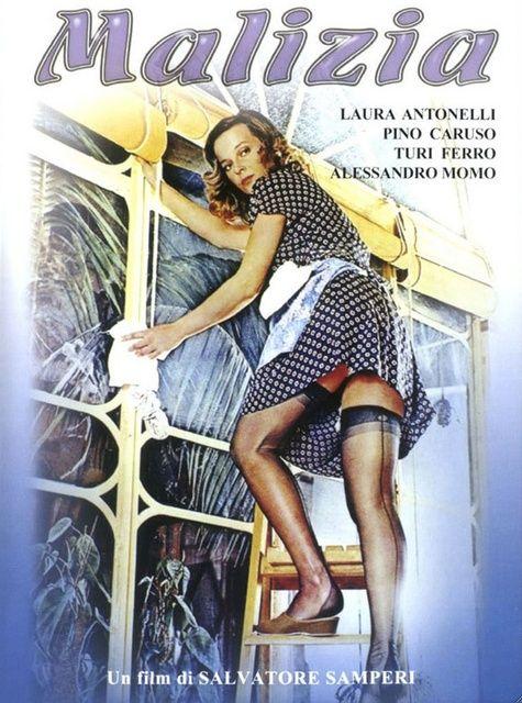 Malizia  , Italy 1973 ,  di Salvatore Samperi (31)  , con  Laura Antonelli (32 )  , Alessandro Momo (17) , Turi Ferro (52) , Tina Aumont (27) , Lilla Brignone (60) ; Pino Caruso (39) . /// bw , f >> ///  famosa commedia-sexy all'italiana , modello per molti film successivi ///