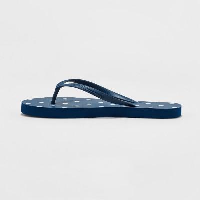 Corkys Footwear Womens Ladies Navy Lumi Flip Flops