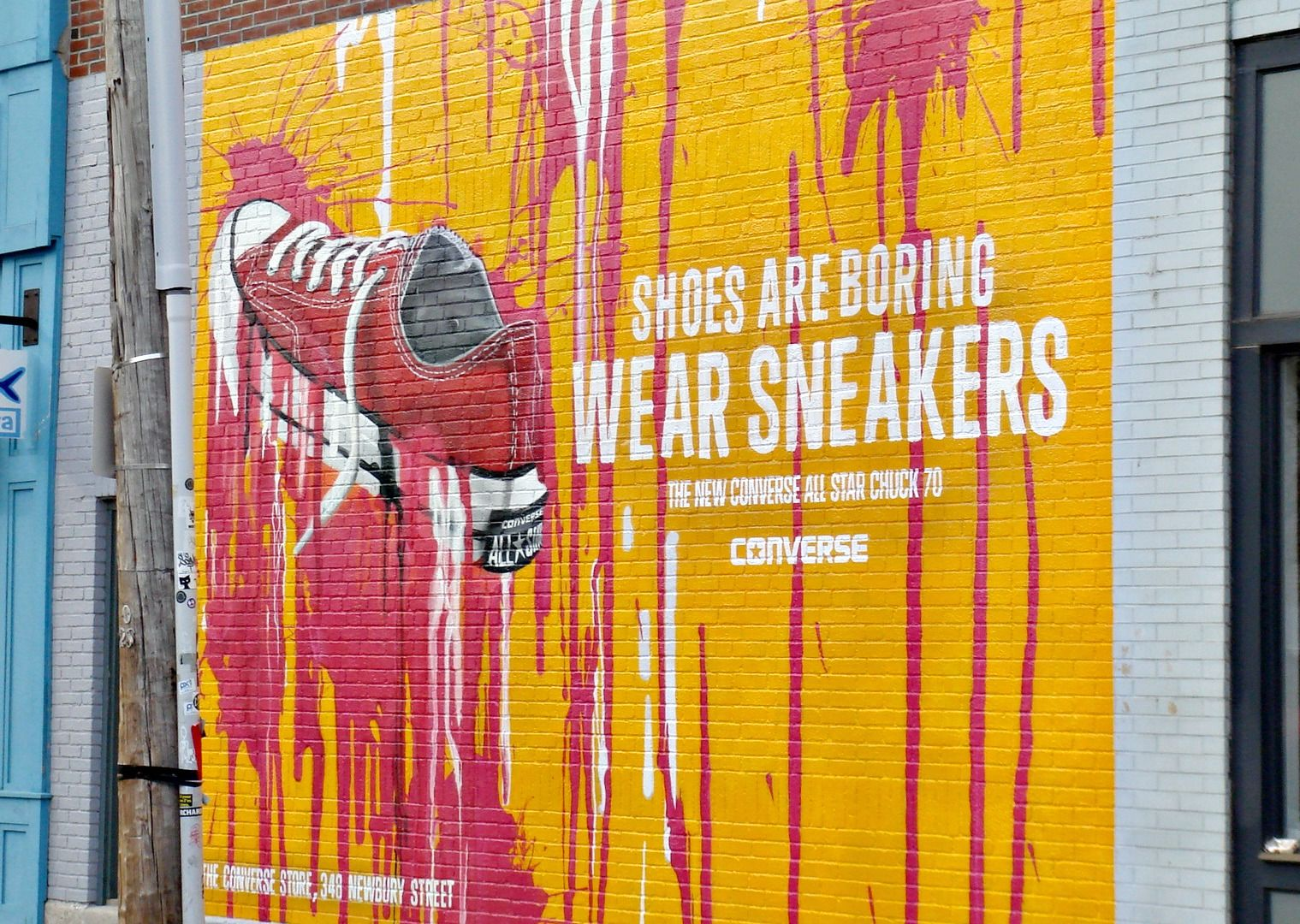 Shoes are boring. Wear sneakers. #Converse | Art and Illustration ...