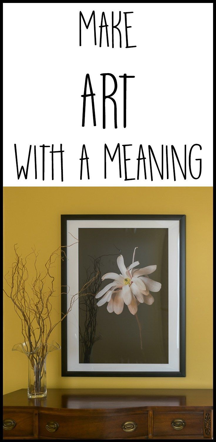 Make Art With A Meaning Diy Art Projects Diy Canvas Art