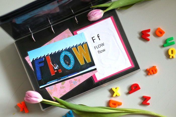DIY: Aakkoskirja lapselle omista valokuvista