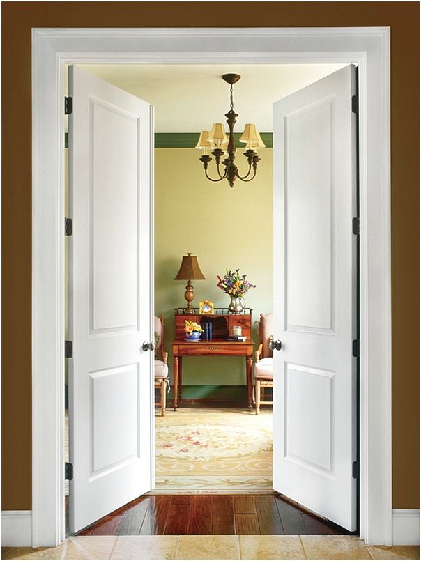 Pintu Rumah 2 Pintu Modern Rumah Minimalis Pintu Rumah Minimalis