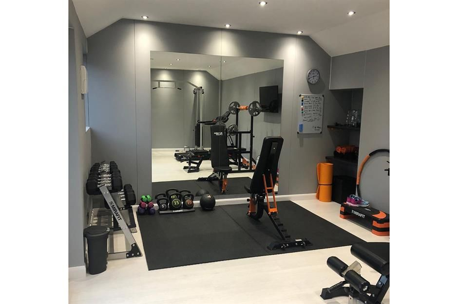 25 Real Workout Rooms To Inspire Your Home Gym Decor Loveproperty Com Home Gym Decor Gym Room At Home Workout Room Home