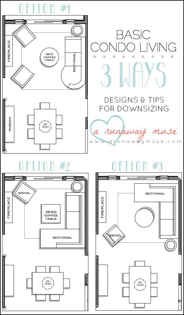 Las Dos Versiones De Abajo Podrìan Funcionar Con Algunos Cambios Custom Living Room Dining Room Layout Ideas Design Inspiration