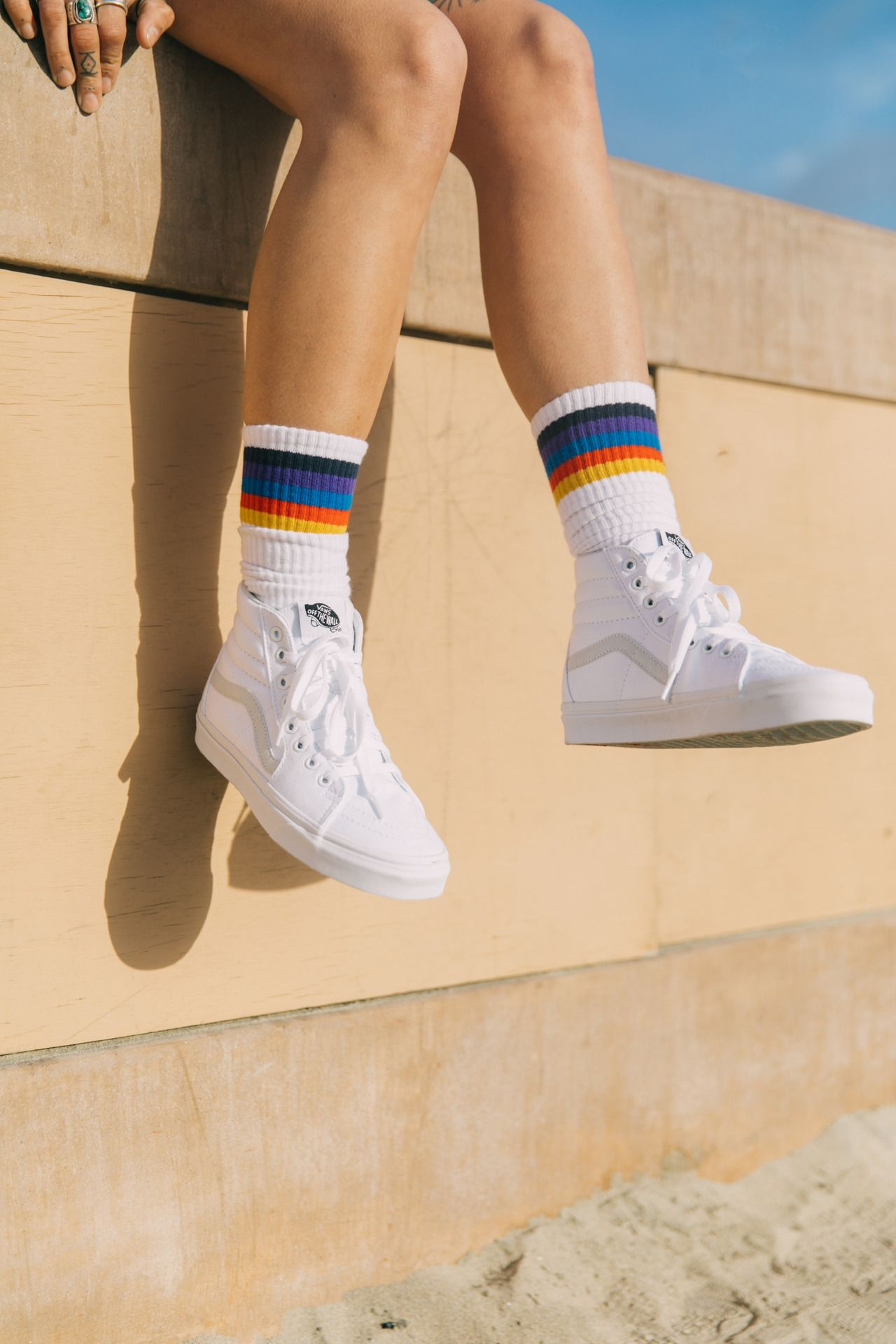 Sock outfits, Vans shoes women
