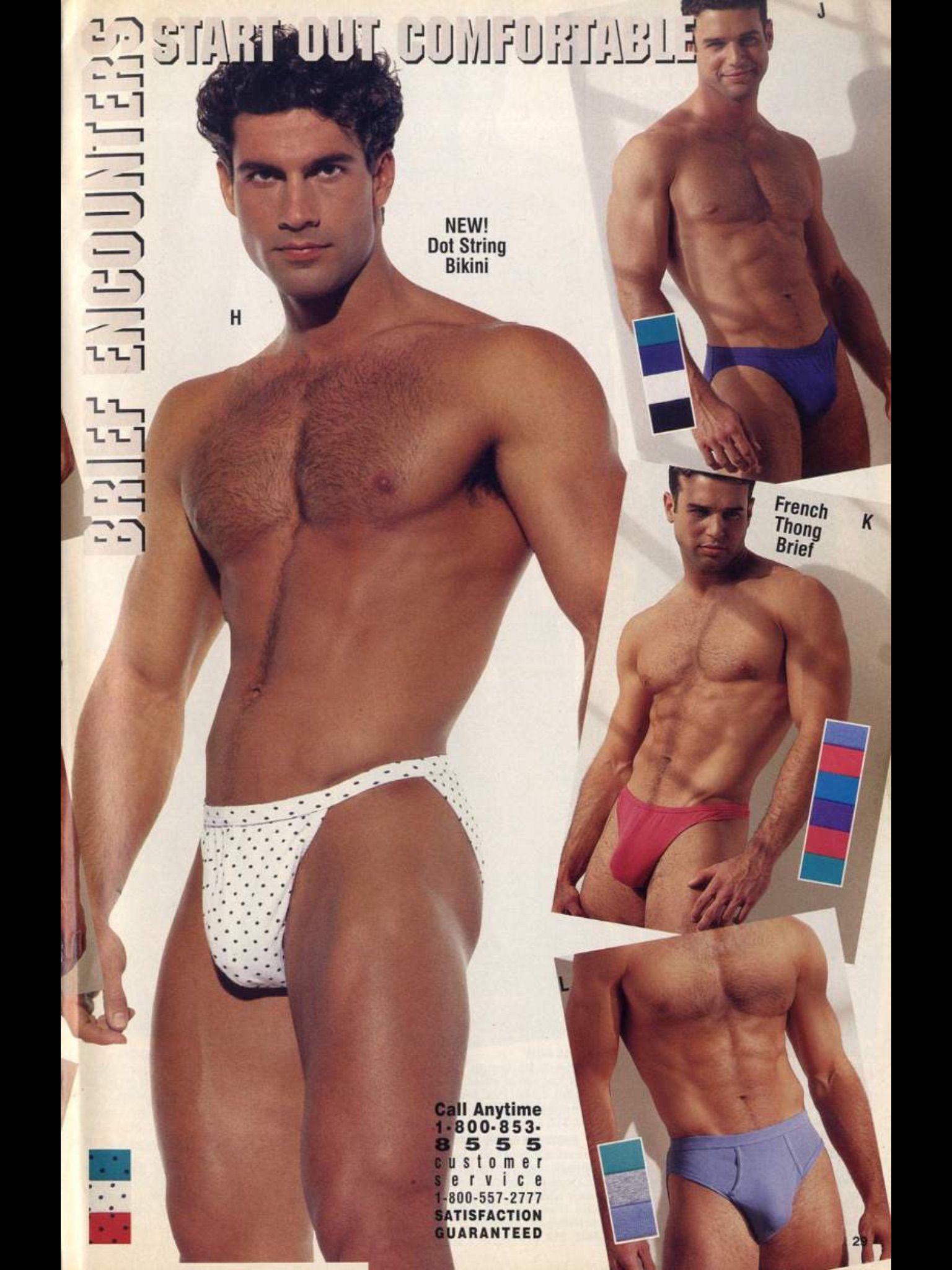 72cc3851d9 Undergear men's underwear catalog | 80's / 90's Men's underwear ...