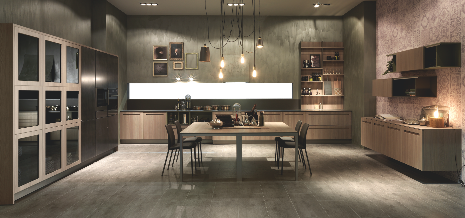 mood di stosa la cucina moderna che disegna lo spazio giorno unendo kitchen e living