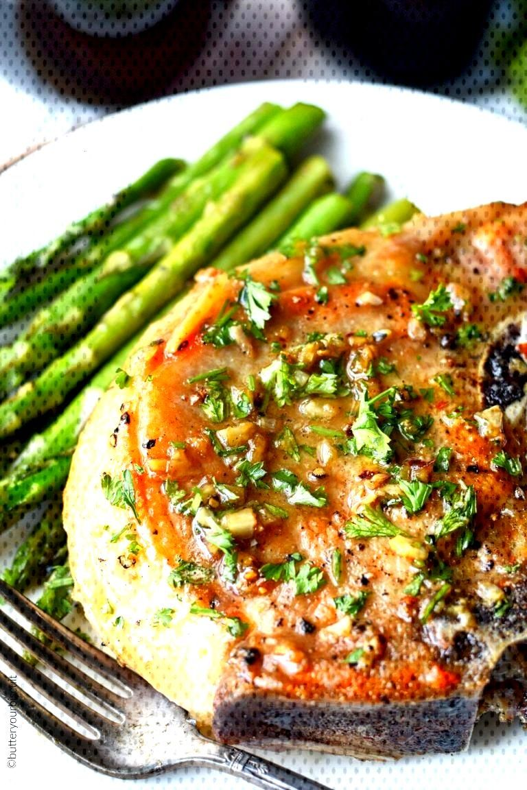 Garlic Brown Sugar Pork Chops -