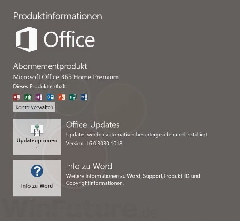 microsoft office for mac 2016 version history