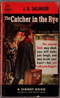 J D Salinger The Catcher In The Rye 53 Cover Art By James Avati Signet 1953 I Have This One But Only One Copy Catcher In The Rye Books Holden Caulfield
